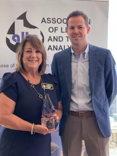 Susan & Clay - ALTA Member of the Year 2019